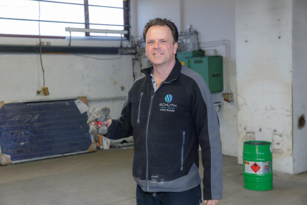 Lager in Sankt Sebastian Mitten im Umzug - Schuth Haustechnik