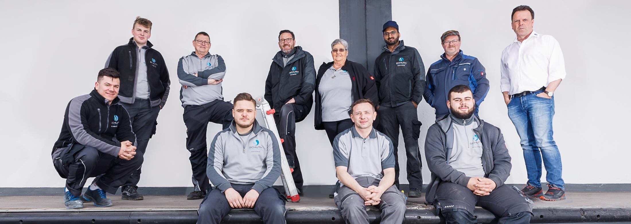 Team Schuth Haustechnik Koblenz