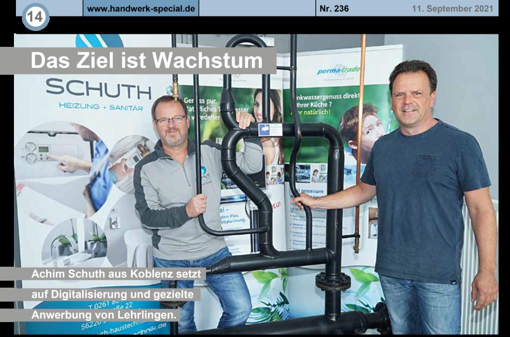 Presse Rheinzeitung - Schuth Haustechnik